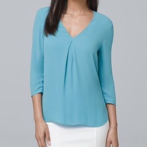 New WHBM Single Pleat Top Size 2